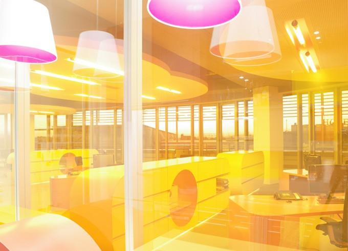 Thumbnail for Farben erwünscht — Ausbau einer Büroetage