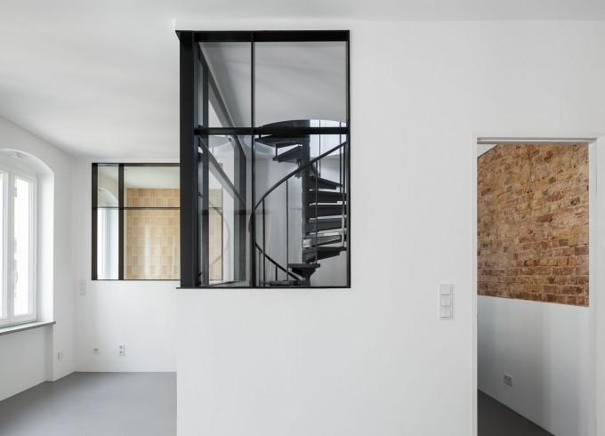 Thumbnail for Wohnen auf zwei Ebenen über den Dächern Berlins